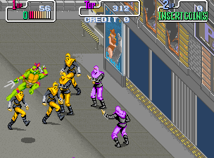 Teenage Mutant Ninja Turtles (Japan 2 Players, version 1) Screenshot