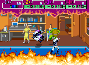 Teenage Mutant Ninja Turtles (Japan 4 Players, version 2) Screenshot