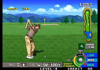 Neo Turf Masters / Big Tournament Golf Screenshot