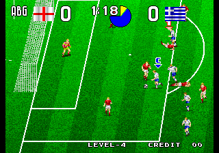 Tecmo World Soccer '96 Screenshot