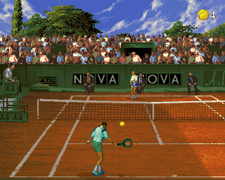 Ultimate Tennis (v 1.4, Japan) Screenshot