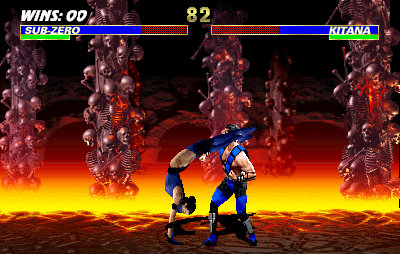 Ultimate Mortal Kombat 3 (rev 1.1) Screenshot