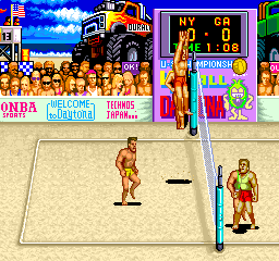 U.S. Championship V'ball (US) Screenshot