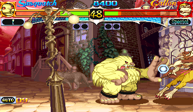 Vampire Hunter: Darkstalkers' Revenge (Japan 950316) Screenshot