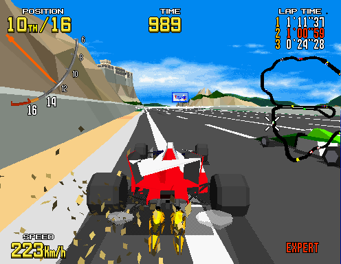 Virtua Racing Screenshot