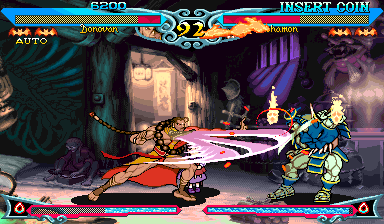Vampire Savior 2: The Lord of Vampire (Japan 970913 Phoenix Edition) (bootleg) Screenshot
