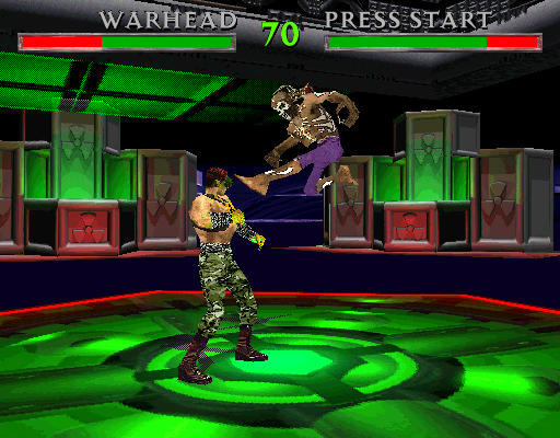 War Gods (HD 10/09/1996 - Dual Resolution) Screenshot