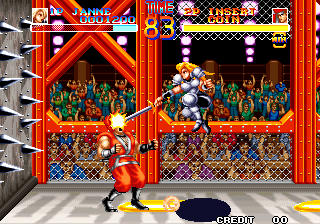 World Heroes (ALH-005) Screenshot