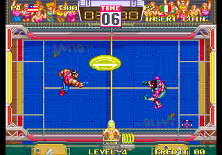 Windjammers / Flying Power Disc Screenshot