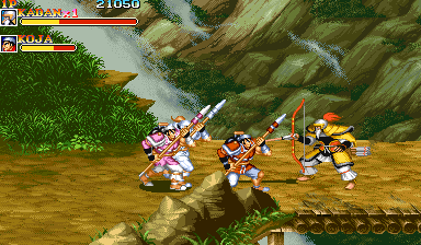 Warriors of Fate (US 921031) Screenshot