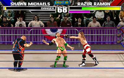 WWF: Wrestlemania (rev 1.30 08/10/95) Screenshot