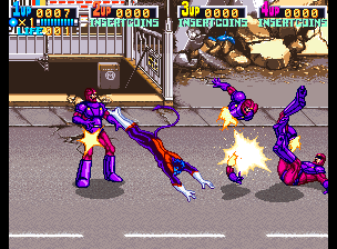 X-Men (4 Players ver EBA) Screenshot