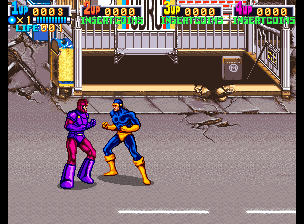 X-Men (4 Players ver JBA) Screenshot
