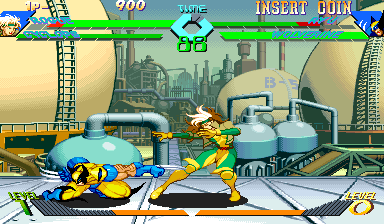 X-Men Vs. Street Fighter (Euro 961004) Screenshot