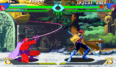 X-Men Vs. Street Fighter (Asia 961004) Screenshot