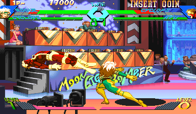 X-Men Vs. Street Fighter (Asia 960919) Screenshot