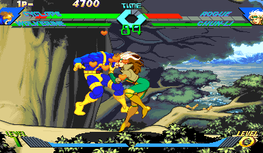 X-Men Vs. Street Fighter (Brazil 961023) Screenshot