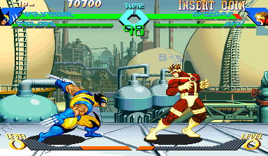 X-Men Vs. Street Fighter (Hispanic 961004) Screenshot