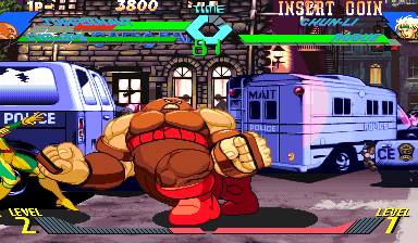 X-Men Vs. Street Fighter (Japan 960910) Screenshot
