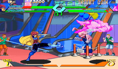 X-Men Vs. Street Fighter (USA 961004 Phoenix Edition) (Bootleg) Screenshot