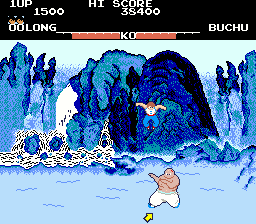 Yie Ar Kung-Fu (GX361 conversion) Screenshot
