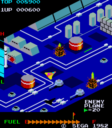 Zaxxon (Japan) Screenshot