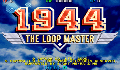 1944: The Loop Master (USA 000620) Title Screen