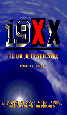19XX: The War Against Destiny (USA 951207) Title Screen