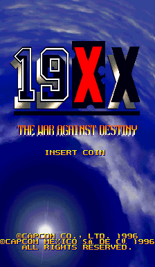 19XX: The War Against Destiny (Hispanic 951207) Title Screen