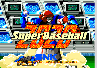2020 Super Baseball (Set 3) Title Screen