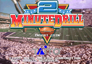 Two Minute Drill Title Screen