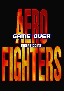 Aero Fighters (World / USA + Canada / Korea / Hong Kong / Taiwan) (newer hardware) Title Screen