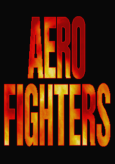 Aero Fighters (Taiwan / Japan, set 1) Title Screen