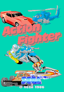 Action Fighter (FD1089A 317-0018) Title Screen