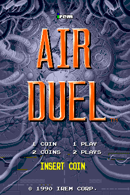 Air Duel (World, M82-A-A + M82-B-A) Title Screen