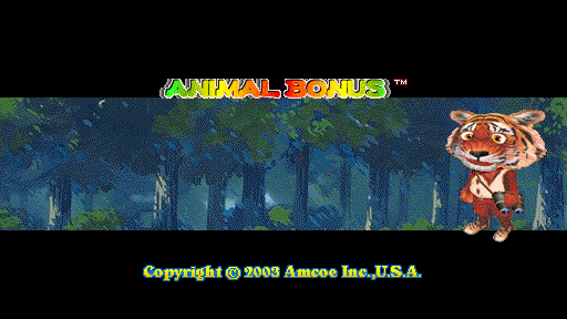 Animal Bonus (Version 1.8LT Dual) Title Screen
