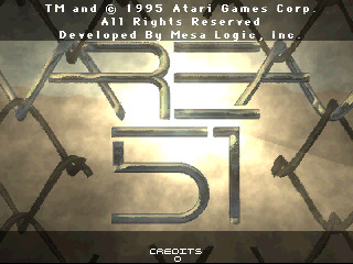 Area 51 (Atari Games license, Oct 25, 1995) Title Screen