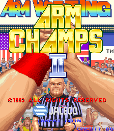 Arm Champs II v2.6 Title Screen