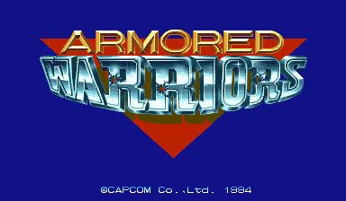 Armored Warriors (Asia 941024) Title Screen