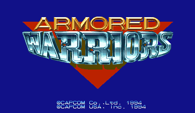 Armored Warriors (USA 941024) Title Screen