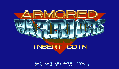 Armored Warriors (USA 940920) Title Screen