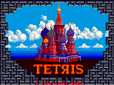 Tetris (set 1) Title Screen