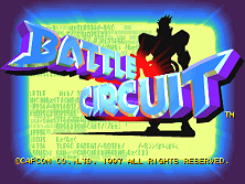 Battle Circuit (Euro 970319) Title Screen