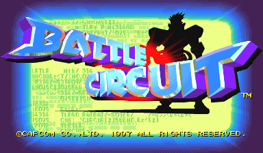 Battle Circuit (Asia 970319) Title Screen