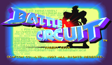 Battle Circuit (Euro 970319 Phoenix Edition) (bootleg) Title Screen
