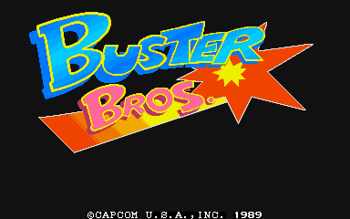 Buster Bros. (USA) Title Screen