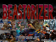 Beastorizer (USA) Title Screen