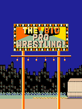 The Big Pro Wrestling! Title Screen