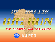 Big Run (11th Rallye version) Title Screen