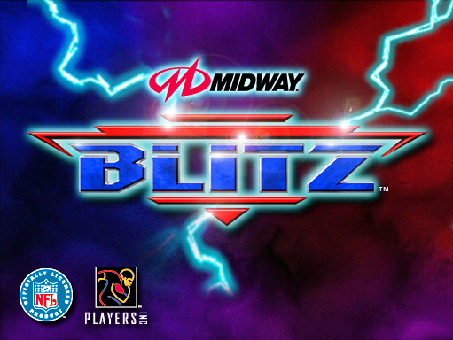NFL Blitz (boot ROM 1.1) Title Screen